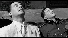 Liam Neeson as Oskar Schindler & Ralph Fiennes as Amon Goeth in Schindlers List