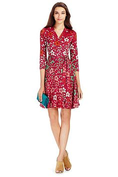 Harper- DVF is a great example of florals I'd wear. I have 5 of her wrap dresses and love them!