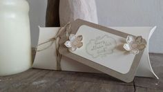 Pillow Box mit dem Pillow Box Punch Board von We are memory keepers