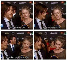 McReedus is everything. Ive watched this interview at least 10 times...and counting