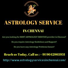 The best astrology service in chennai