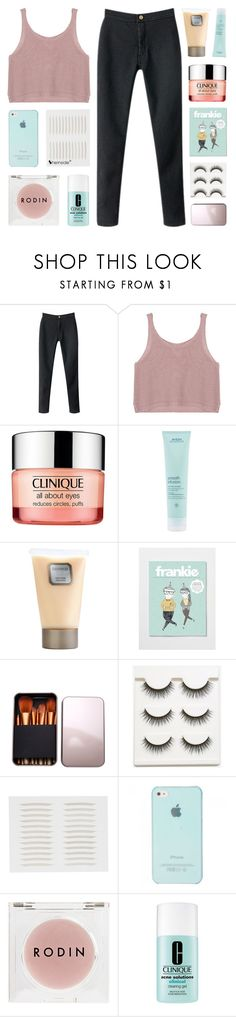 """""""take me back to the basics and the simple life"""" by kristen-gregory-sexy-sports-babe ❤ liked on Polyvore featuring Chicnova Fashion, Clinique, Aveda, Laura Mercier and Rodin Olio Lusso"""