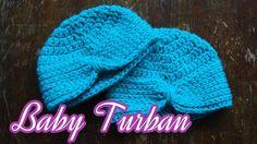 Crochet Baby Turban