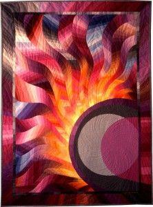 Corona #1: Solar Eclipse, Caryl Bryer Fallert