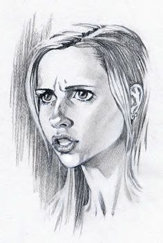 I did this Pencil sketch while I was working on the show