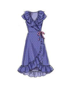 Dress Design Drawing, Dress Design Sketches, Fashion Design Drawings, Fashion Sketches, Fashion Drawing Dresses, Miss Dress, Dress Sewing Patterns, Mccalls Patterns, Apron Patterns