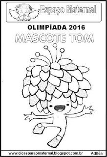 JOGOS OLÍMPICOS 2016 E EDUCAÇÃO INFANTIL, IMPRIMIR E COLORIR - Espaço Maternal                                                                                                                                                     Mais