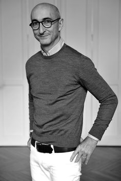 Pierre Hardy was born and raised in Paris. He studies dance while completing a degree in fine arts from the Ecole Normale Supérieure and joins his first professionnal dance company upon graduation. In 1999 Pierre Hardy launches his namesake brand with the Spring — Summer Women's shoe collection.