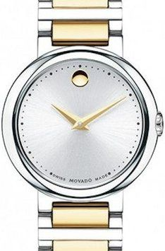 Movado Movado 0606703 Concerto Women's Two-tone Stainless steel Dress Watch