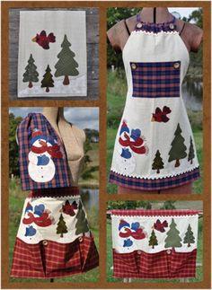 Just 2 Tea Towels- Snowman Set