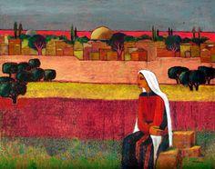 Eye on Jerusalem, 2012-Nabil Anani (Palestinian Artist)