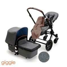 Style and comfort should always go hand-in-hand. With the new special edition Bugaboo Blend you don't have to sacrifice one for the other. Its cool tweed fabric is complemented by blue TENCEL (a natural man-made fiber made of Eucalyptus trees) lining and faux leather handles. Plus like all third generation Bugaboo Cameleons it has best-in-class maneuverability and is fully loaded with bassinet and more. #bugabooblend #bugaboocameleon #bugaboo #stroller #getoutside #strollerlife #momtobe…