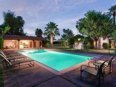 Clark Gable Palm Springs Home For Sale - Live Like Clark Gable - ELLE DECOR
