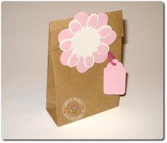 Sacchetti di carta pacco fatti a mano