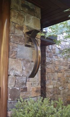 Custom LED Exterior Sconce by Phoenix Day for designer Terry Ohm Sconces, Outdoor Wall Sconce, Led, Wall, Outdoor Walls, Restoration, Led Fixtures, Exterior