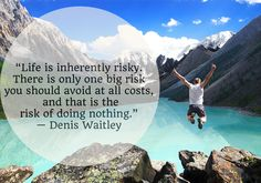 What have you done in your life that was a risk? What stories can you tell from those risks to leave a legacy?