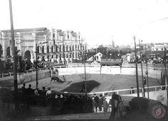 Corrida de toros en el Parque Lezama, Buenos Aires 1902. (Archivo General de la Nación)