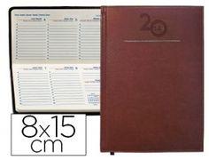 Tapa acolchada. Impresa en papel ahuesado a 2 tintas, papel de 70 g/m2. Contenido: Calendario trienio, santoral, distancias kilométricas ent...