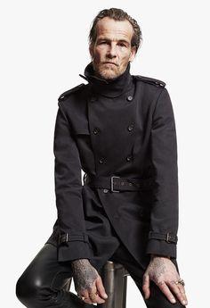 The Kooples Man FW13 #thekooples #trenchcoat #man