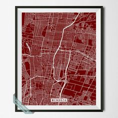 Chennai Print India Map Chennai Map India Print By VocaPrints - Argentina map from india