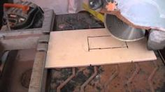 tile around outlets - YouTube