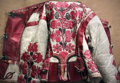 Embroidered sheep skin jacket, Békés county | Flickr - Photo Sharing!