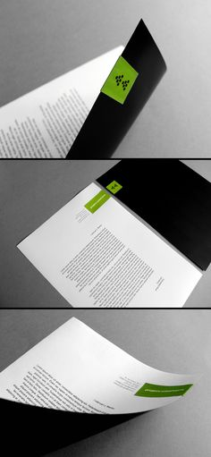 projectGRAPHICS corporate identity by projectGRAPHICS , via Behance