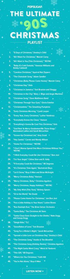 Pin for Later: Versüßt euch die Festtage mit den besten Weihnachtsliedern