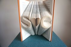 Custom engraved book from Etsy shop BookArt88