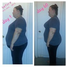 This is just in from Becky!! I am so proud of you! You look great! Cant wait to see your 90 days! This is what Becky had to say......  This is my 60 day update... I wasn't going 2 post these yet but i figured.... Why not!!!!This is me Becky!! and my 60 day pics. I've still got 30 days left but I'm happy with my results so far! What do y'all think? and remember folks..... It takes a lot of courage for someone like me who has struggled their entire life with weight issues 2 post pictures at…