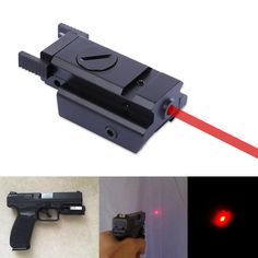 Hand Gun Red Dot Laser Sight Scope 20MM Pistol Weaver Picatinny Rail Tactical Hunting Laser Sight