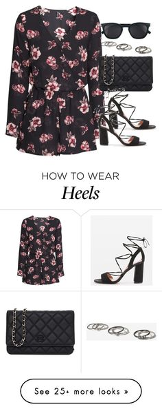 """""""Sin título #12979"""" by vany-alvarado on Polyvore featuring H&M, Chanel, Topshop and Yves Saint Laurent"""