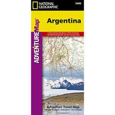 Argentina Adventure Map