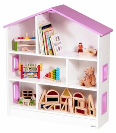 Guidecraft's Dollhouse Bookshelf