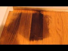 """Homemade Hardwood Floor Cleaner For Sparkling Floors. Take your hardwood floors from dull to """"oh la la!"""" with this homemade hardwood floor cleaner. Wood Floor Repair, Hardwood Floor Cleaner, Clean Hardwood Floors, Hardwood Furniture, Furniture Repair, Staining Wood Floors, Cleaning Wood Floors, Cleaning Painted Walls, Cleaning Pet Urine"""