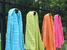Towel hook idea.