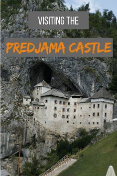 Have you ever visited a castle perched on a 123m cliff and using a rock as the wall? #slovenia #europe #unesco