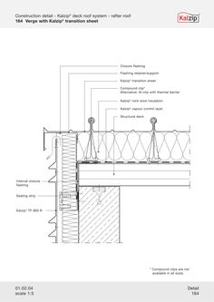 Kalzip Construction Details Detail Pinterest