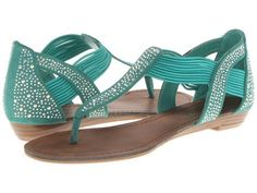 MADDEN GIRL Tone Crystal Sandals Green $29 SHIPS FREE ♥ BUY HERE: http://www.beachhippieinc.net/madden-girl-tone-crystal-sandals-green/ ♥ INCLUDES NORTON SHOPPING PROTECTION & LOWEST PRICE GUARANTEE!