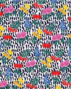 Patterned Bouquet. #pattern #illustration