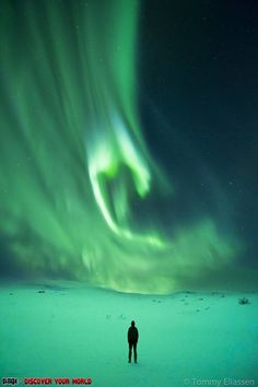 The beauty of the Northern Lights.