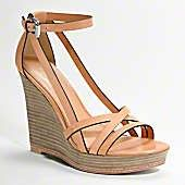 These are cute Coach Wedges... and hey, their not black!