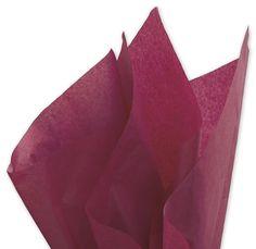 100 Sheets Fuchsia Gift Wrap Pom Pom Tissue Paper 15x20