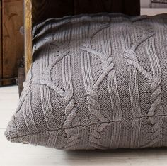 Gallery Direct Arran Charcoal Cushion
