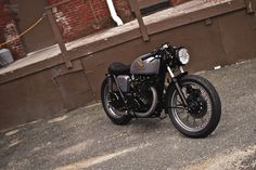 Honda CB450 1972 Lucky 13 Cafe Racer by Joe   The Garage Cafe