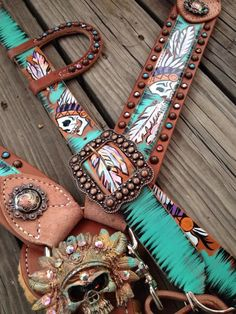 Custom Tack Set by The Cowboy Junkie