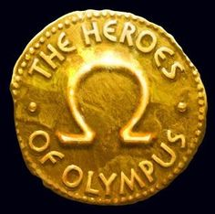 The Blood of Olympus, the newest book in Rick Riordan's Heroes of Olympus series, will hit Bookshare in early October. Until then members can enjoy the previous titles on Bookshare -- The Lost Hero, The Son of Neptune, The Mark of Athena, The Demigod Diaries, and The House of Hades.  Image: The Heroes of Olympus logo, gold coin marked with the Greek letter Ω (Omega). On Bookshare at https://www.bookshare.org/search?author=Riordan&title=Heroes+of+Olympus&sortOrder=COPYRIGHT_DATE.