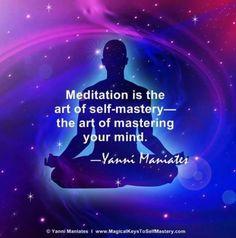 Aaaah meditate