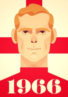 Here's one I did of Bobby Moore