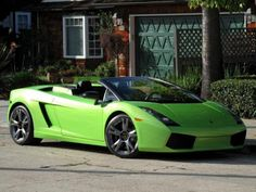 This is a wallpapers HD Lamborghini Gallardo Green cars wallpapers Lamborghini Gallardo Green